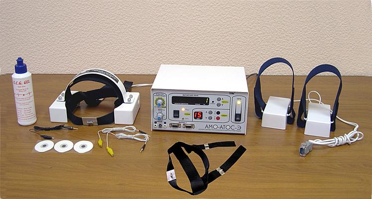 Аппарат для сочетанной транскраниальной магнитотерапии и электростимуляции