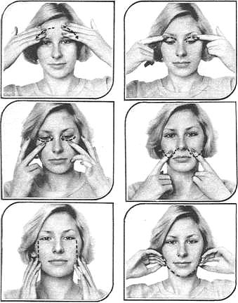Как сделать самостоятельно массаж лица