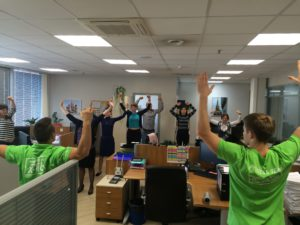 Производственная гимнастика для офисных работников