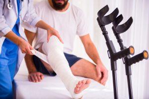 Как определить перелом ноги самому